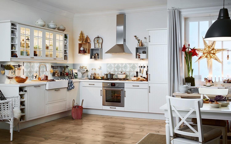 weihnachtskueche weiss holz k chendesignmagazin lassen sie sich inspirieren. Black Bedroom Furniture Sets. Home Design Ideas