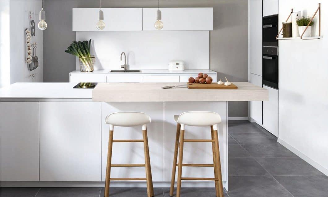 Die Wahl zwischen den verschiedenen Küchenformen wird stark davon beeinflusst, ob Sie allein, zu zweit oder öfters mal mit Freunden kochen.