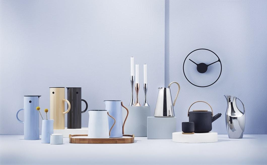 Die 60er Jahre neu entdecken: Mit Porzellan, Metall und Holz ...