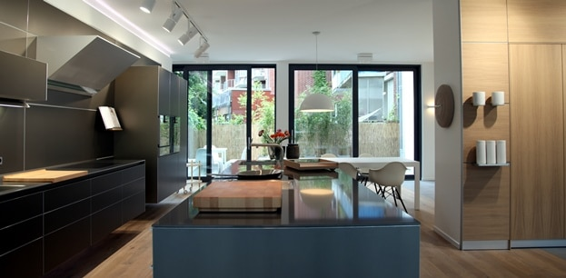 bulthaup am tibusplatz k chendesignmagazin lassen sie sich inspirieren. Black Bedroom Furniture Sets. Home Design Ideas