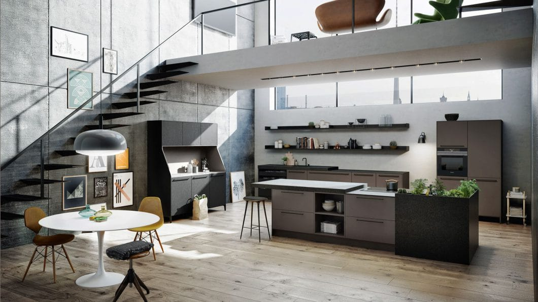 SieMatic Urban Design Kitchen