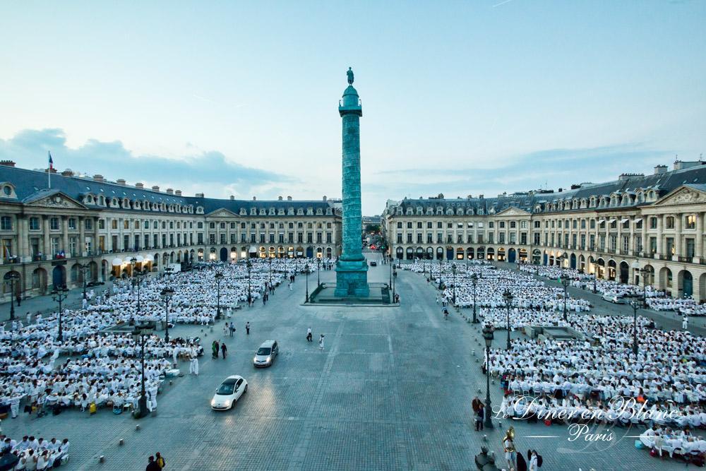 Ob an der Seine, wie hier am Place Vendôme oder...
