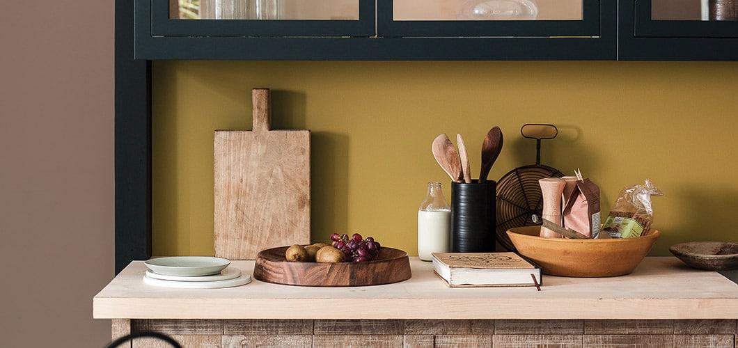 Das Goldene Zeitalter: Endlich Farbe in der Küche ...