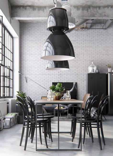 k chen im industrial look k chendesignmagazin lassen sie sich inspirieren. Black Bedroom Furniture Sets. Home Design Ideas