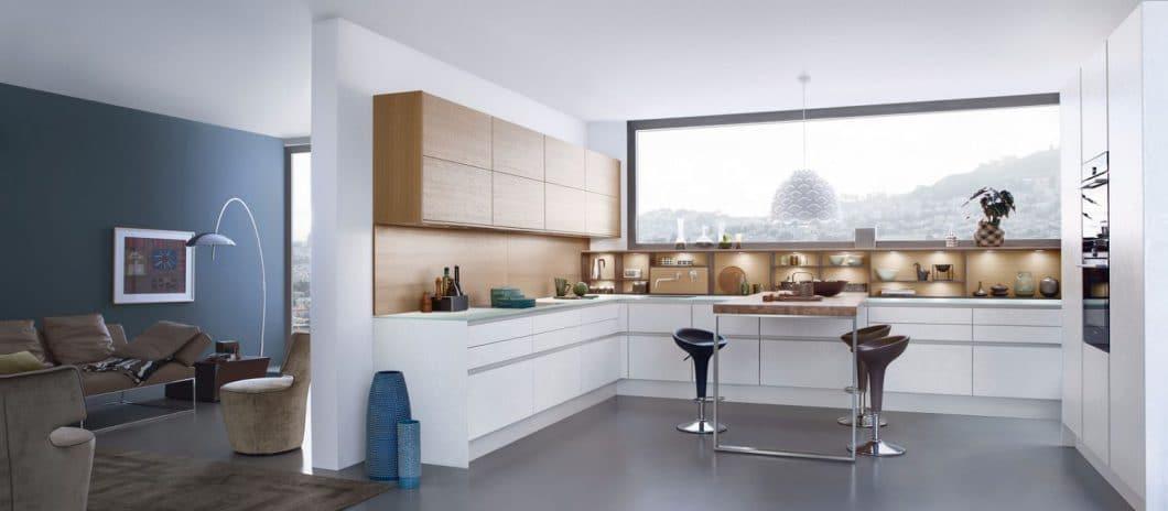 Minimalistisch-warme Küchen - KüchenDesignMagazin