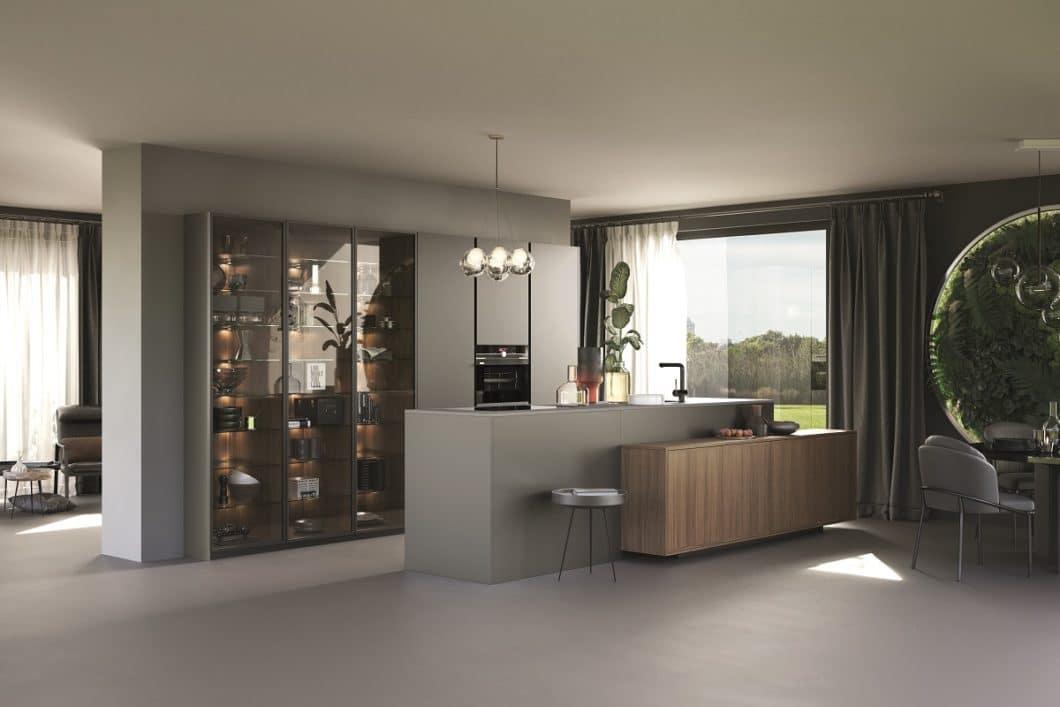 Rotpunkt bietet ein dezentes Küchendesign auf hohem Niveau. Käufer haben die Wahl zwischen puristischen Designküchen, modernem Scandi-Landhausstil und nobler Luxusgestaltung. (Foto: Rotpunkt)