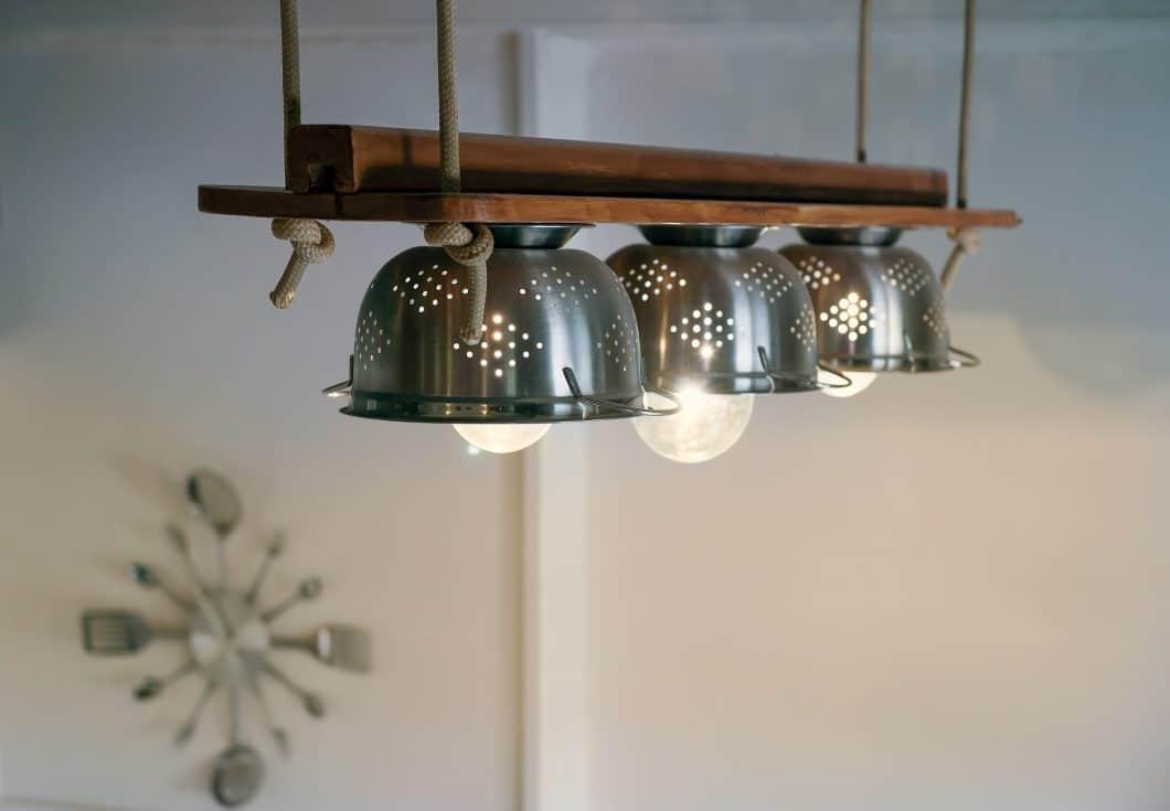 shutterstock_317529512 Küche Leuchte Nudelsieb