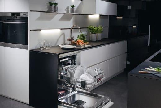 Foto aeg electrolux comfort lift geschirrspüler