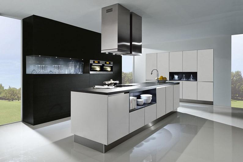 almhofer-architektur-und-wohnen-küche-schwarz-weiss ...