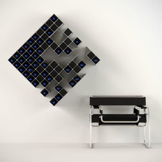 Auch an der Wand in kubenförmigen Gebilden ein echter Hingucker - achja: und platzsparend. (Foto: via new atlas)