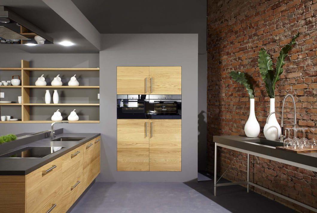 Küche Eichenholz-Betonoptik - KüchenDesignMagazin-Lassen Sie ...