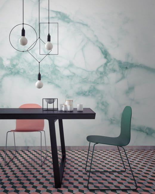 Foto: Designmilk, Mural wallpapers, Marmor, marble