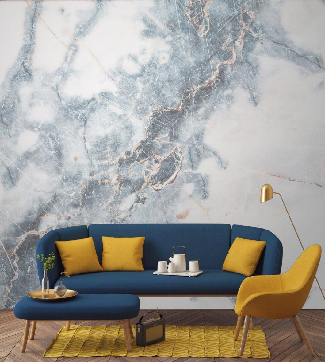 Marmor in Papierform - Wallpapers machen\'s möglich ...