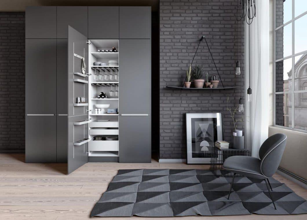 Ordnung ist das halbe Leben: SieMatic & Leicht Küchenschränke ...