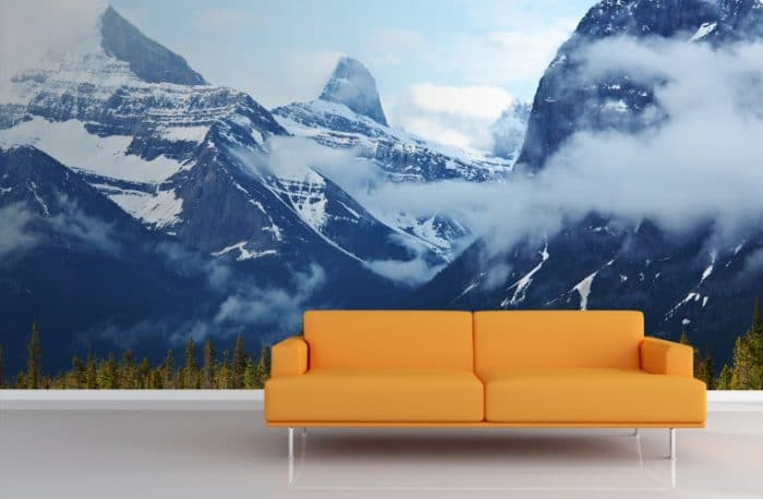 "Wallpaper ""Canadian Mountains"", muralswallpaper.co.uk"
