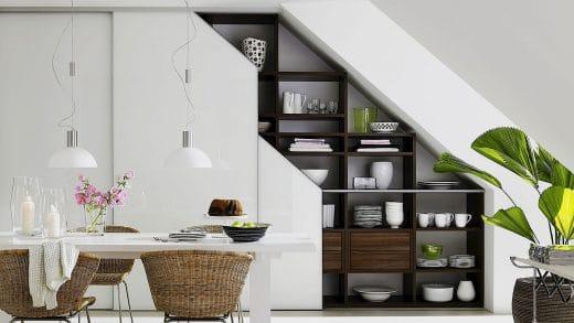 Dachschrägen richtig nutzen   küchendesignmagazin lassen sie sich ...