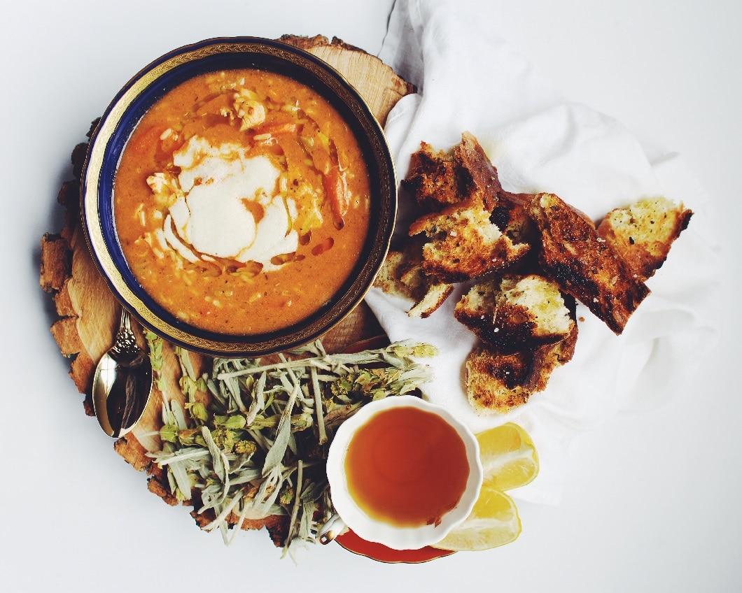 pumpkin soup gregory bourolias