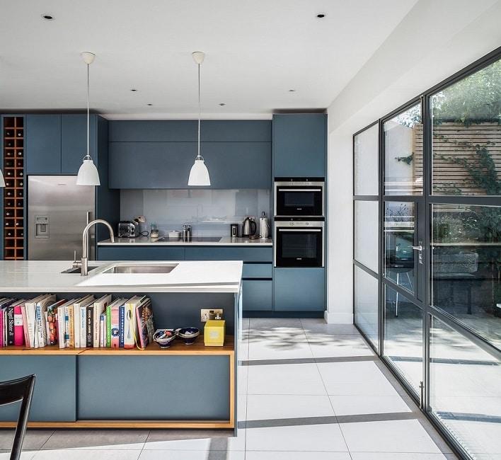 Blaue Küchen - KüchenDesignMagazin-Lassen Sie sich inspirieren