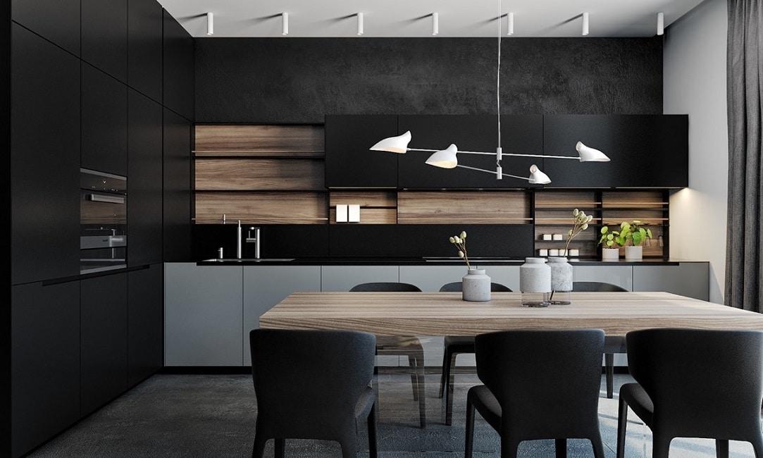 Schwarze Küchen - KüchenDesignMagazin-Lassen Sie sich inspirieren