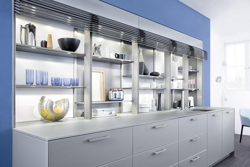 Der Kauf Einer Blauen Küche Will Wohlüberlegt Sein. Alternativ Kann Man  Sich An Blau Auch Erstmal Als Wandfarbe Und Farbe Für Küchenaccessoires  Versuchen.