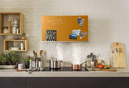 Eine kreative dunstabzugshaube von neff küchendesignmagazin lassen