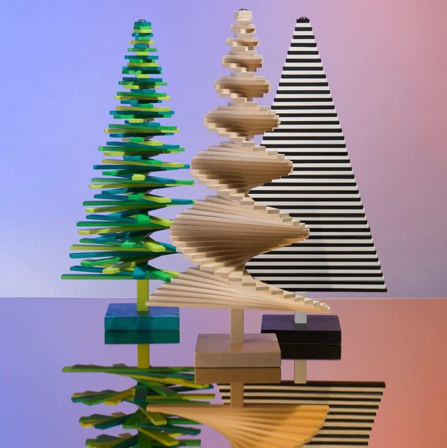 Die verrückten Formen und Farben wirken in ihrer Kombination dennoch harmonisch - das ist dem Goldenen Schnitt zu verdanken, der dem Design zugrunde gelegt wurde. Foto: charlesandmarie