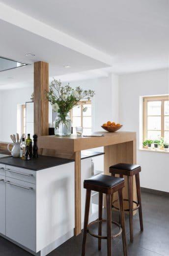 Barhocker Landhaus eine küche für loft und landhaus küchendesignmagazin lassen sie