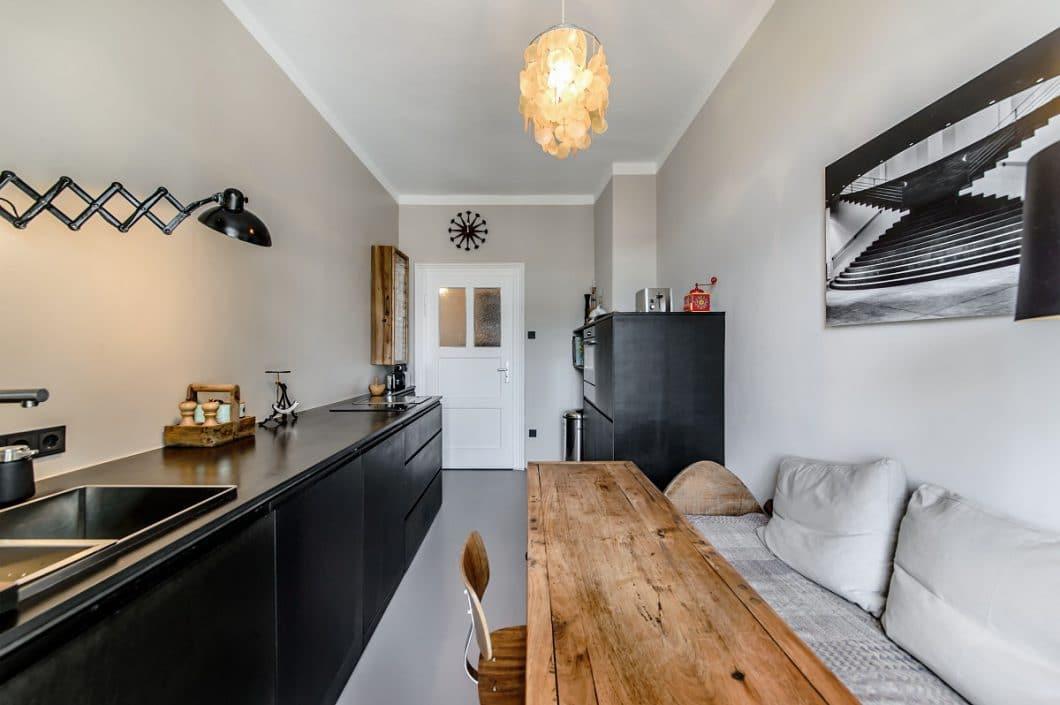 eine k che im altbau eine gute herausforderung k chendesignmagazin lassen sie sich inspirieren. Black Bedroom Furniture Sets. Home Design Ideas