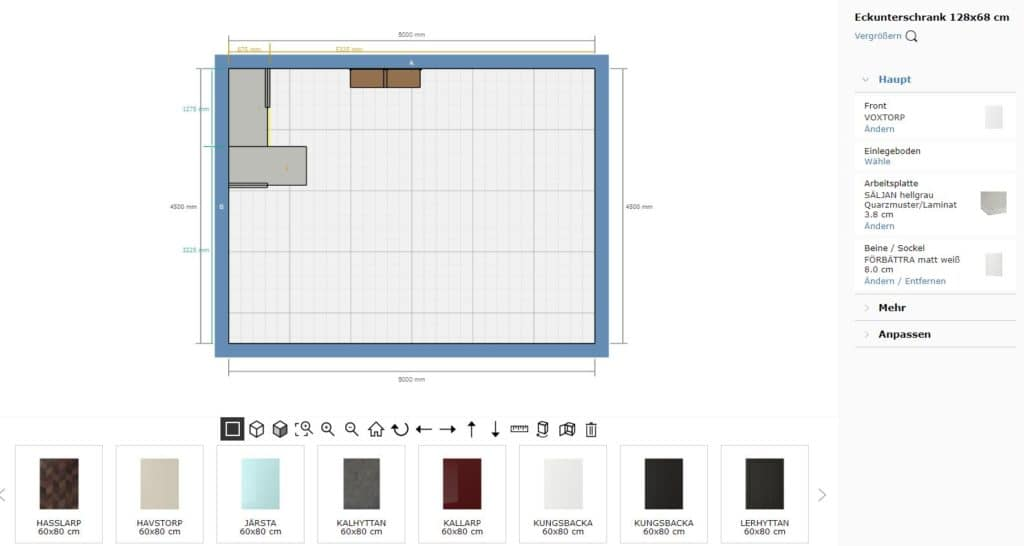 Nur knapp 30 Fronten stehen IKEA-Käufer:innen zur Verfügung - Farbe und Stil bereits einberechnet. (Foto: IKEA)