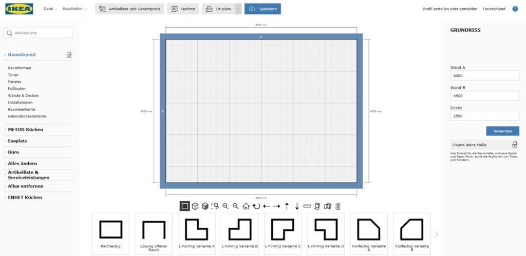 Der IKEA-Küchenplaner lässt Käufer:innen online selbständig tüfteln. Nicht mitgeliefert werden hilfreiche Tipps zu Laufwegen, Küchenzonen und Schrankideen. (Foto: IKEA)