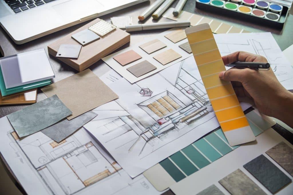 In einem Küchenstudio hat man nicht nur eine viel größere Auswahl aus verschiedenen Materialien und Farben, sondern kann diese auch als Materialprobe anfassen und mit nach Hause nehmen - beispielsweise für Front, Arbeitsplatte und Essbereich. (Foto: stock)