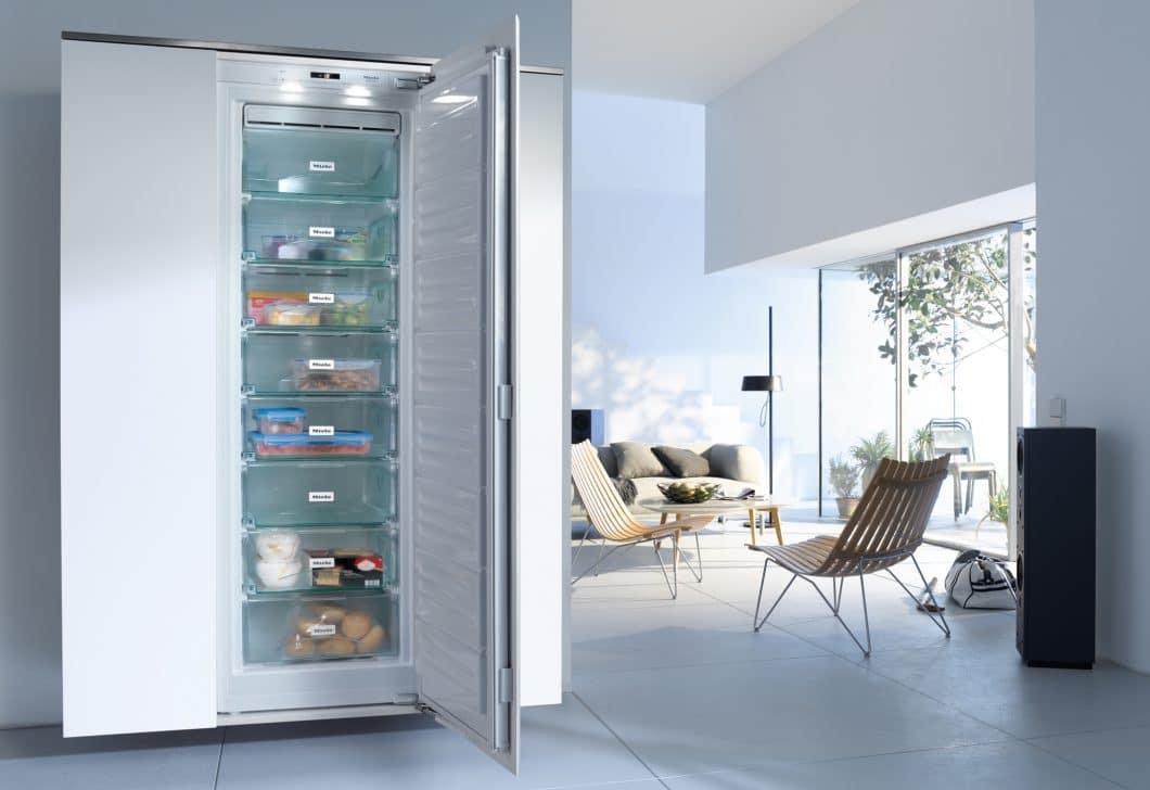 No Frost vs. Low Frost vs. herkömmliche Kühlgeräte: Was bringt mir das - und wie energiesparend sind diese Modelle wirklich? (Foto: Miele)