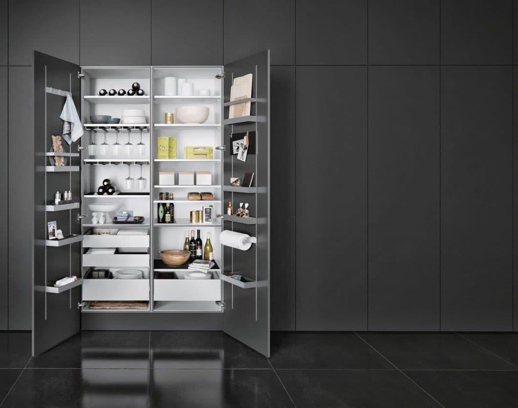 Die MultiMatic-Schrankserie von SieMatic: So viel Ordnung im Küchenschrank war noch nie. (Foto: SieMatic)