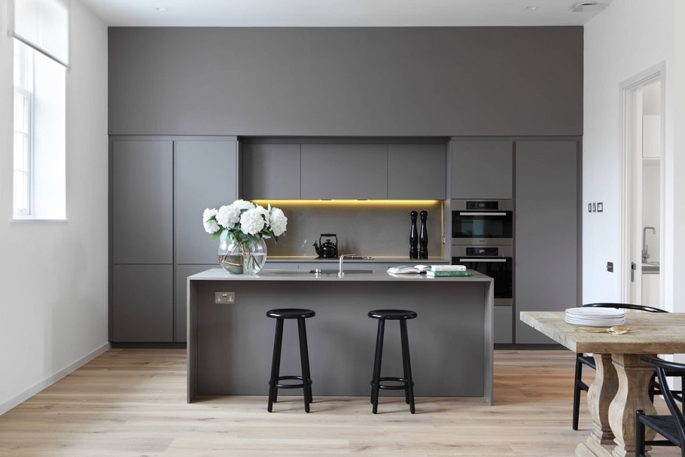 Graue Küchen - KüchenDesignMagazin-Lassen Sie sich inspirieren