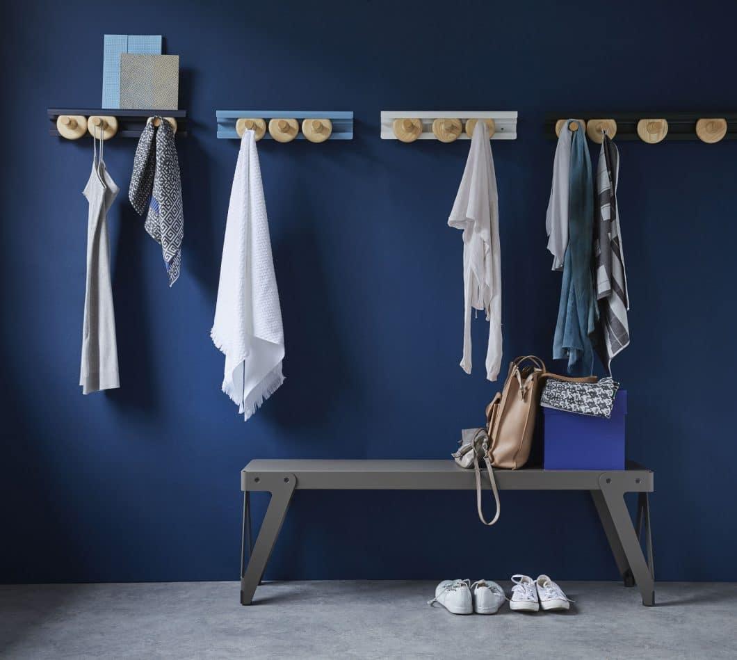 Die Garderobe Get the wheels turning vom Einrichtungsspezialisten Van Esch. (Foto: van Esch)