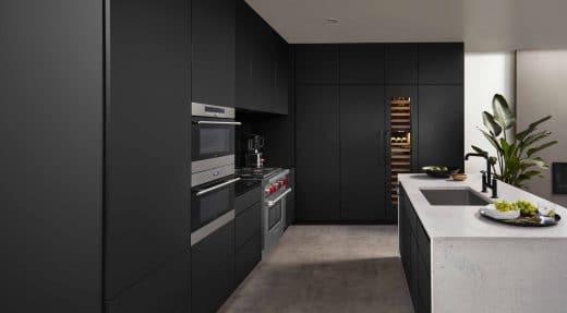 FENIX NTM kann für Arbeitsplatten, Küchenfronten und Spritzschutzwände in der Küche verwendet werden. (Foto: Northern Contours)