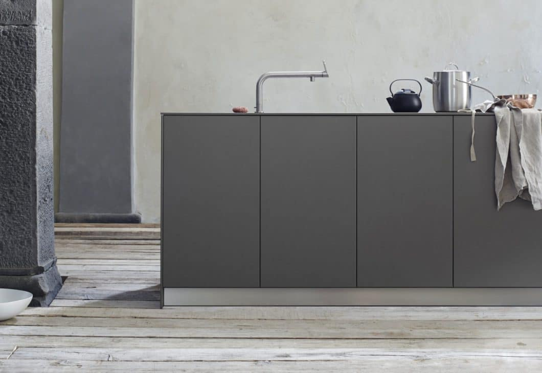 Eine bulthaup-Küchenfront aus hochwertigem Laminat. (Foto: Stylepark)