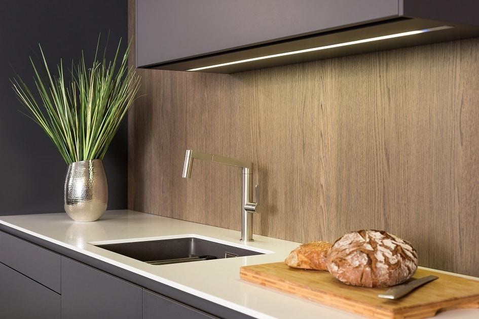 Detailverliebt: Bei Lang Küchen kommen hochwertiges Design und innovative Ideen zur Küchenplanung zusammen. (Foto: Lang Küchen)