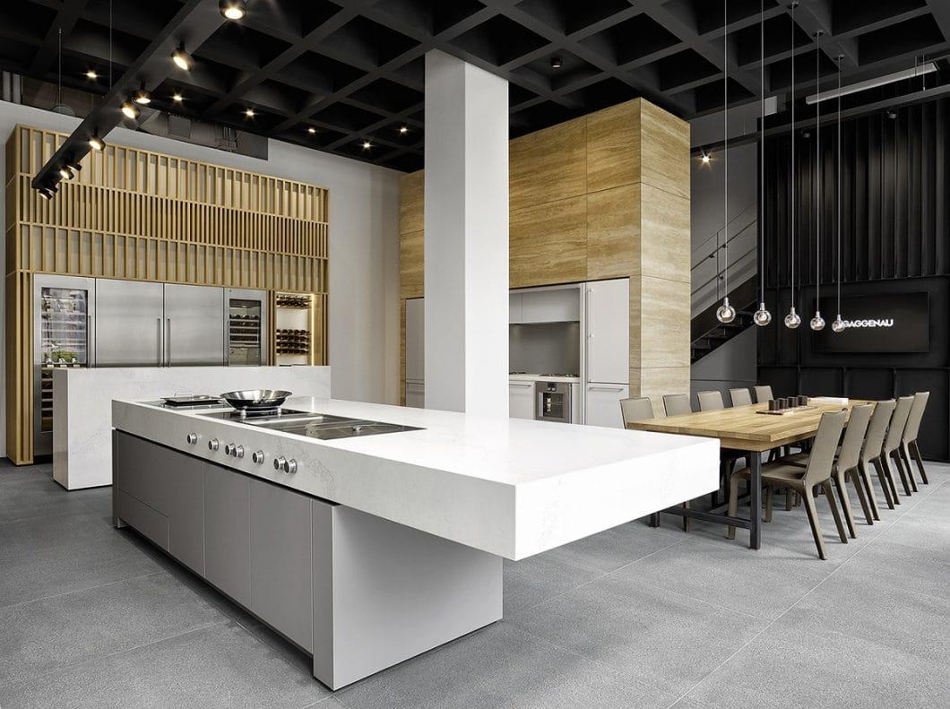 Kochen, Essen, Genießen: Das alles möchte Gaggenau unter Verwendung seiner Produkte auch live demonstrieren. (Foto: Gaggenau)