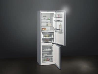 Der Siemens iQ700 mit hyperFresh-Box für Obst und Gemüse. (Foto: Siemens Hausgeräte)