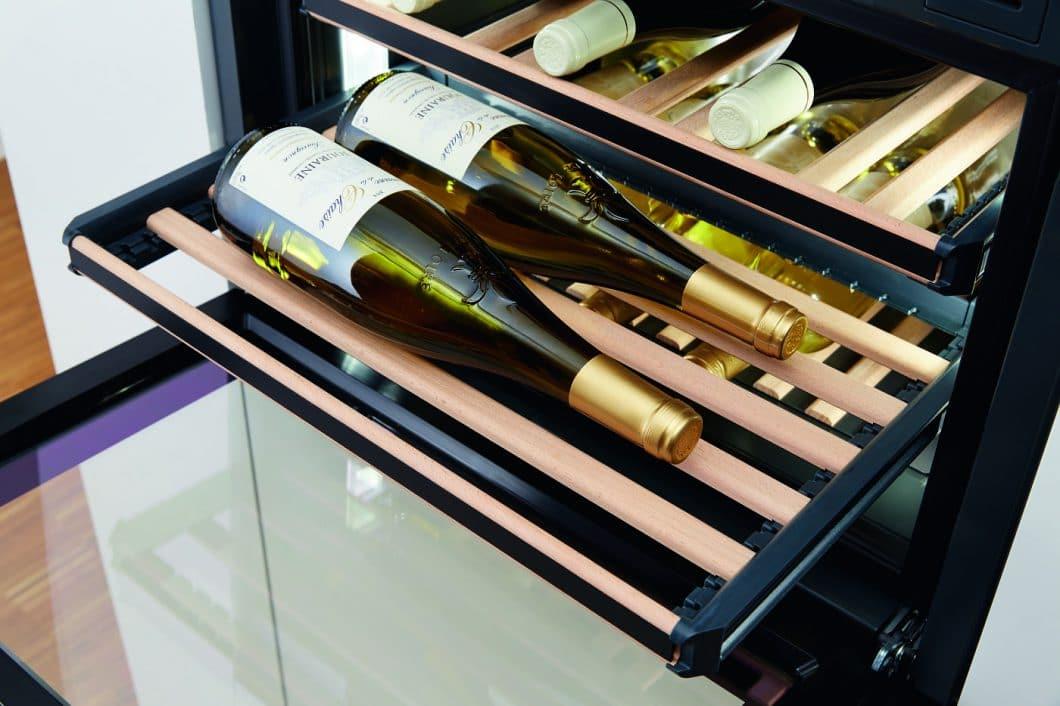 Wie wird Wein richtig gelagert? - Natürlich im Weinklimaschrank. Wir stellen 6 Modelle vor. (Foto: Miele)