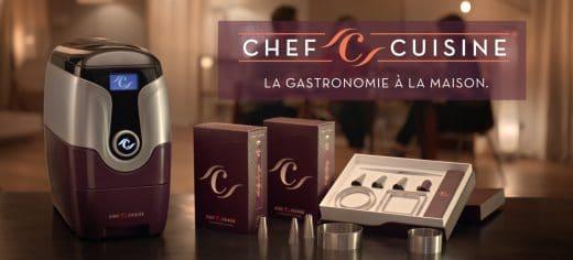 Elegant sollte das Küchengerät ChefCuisine daherkommen - tatsächlich sah sie aus wie eine Mischung aus Toaster und Nespresso-Maschine. (Foto: luxsure.fr)