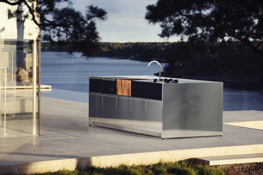 Outdoor Küche Auf Rädern : Modul outdoor küche für den garten und die terrasse