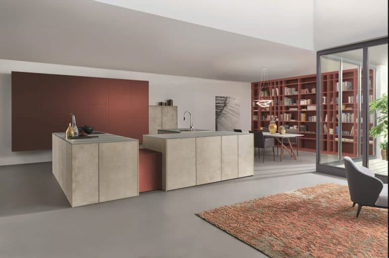 Neue Farben an der Wand oder an Küchenmöbeln liefert z.B. LEICHT mit seiner Farbpalette von Les Couleurs Le Corbusier. (Foto: LEICHT)