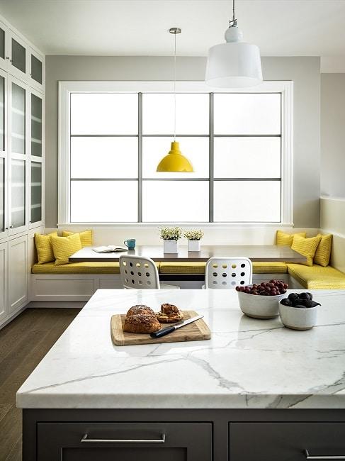 Sitzecken in der Küche - KüchenDesignMagazin-Lassen Sie sich inspirieren