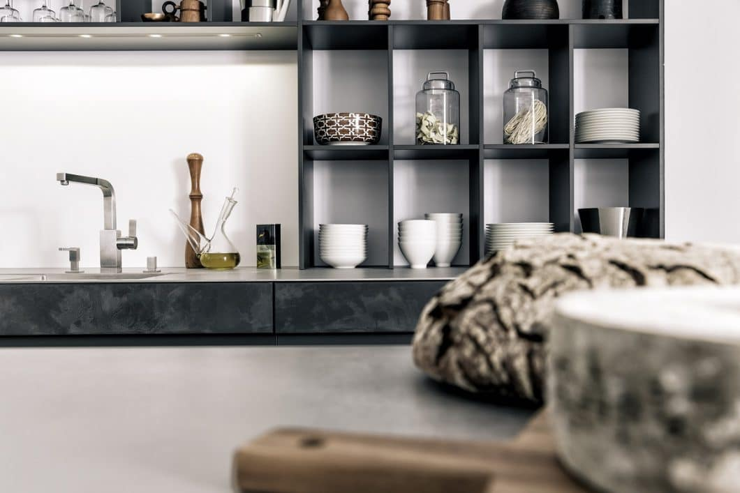 Beton in der Küche: Vom Brutalismus zum Industrial Style