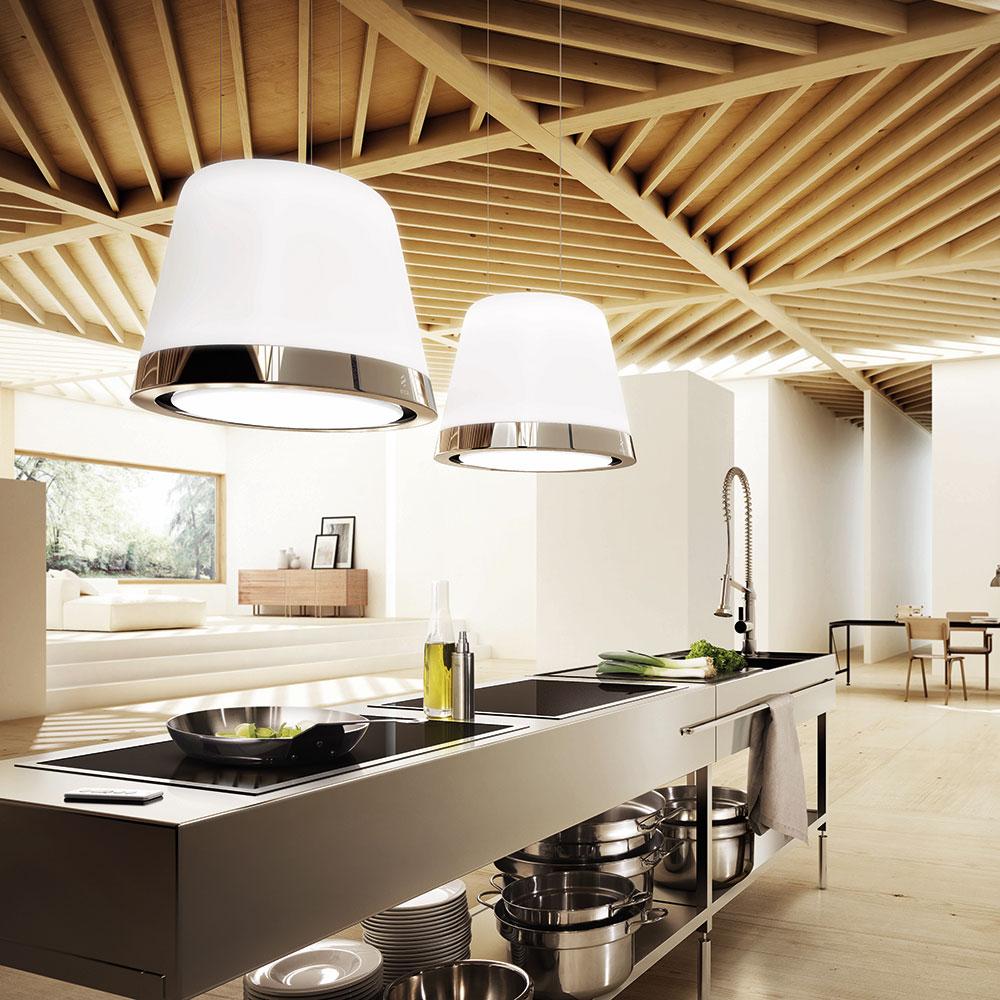 Eine Dunstabzugshaube Kann Das Gesamtbild Eines Küchenraums Stören   Oder,  Wie Im Fall Von Elica