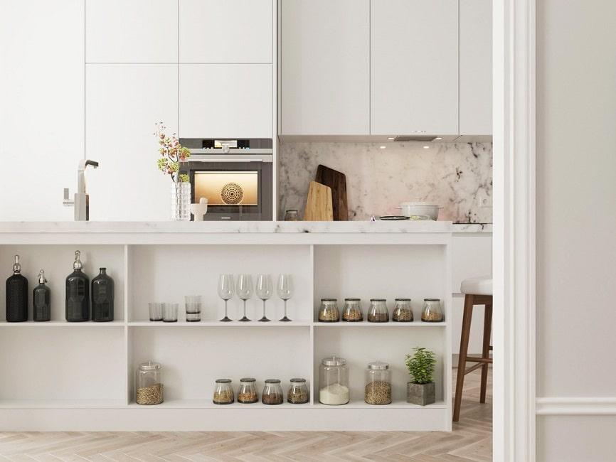 Offene Küchenregale - KüchenDesignMagazin-Lassen Sie sich ...