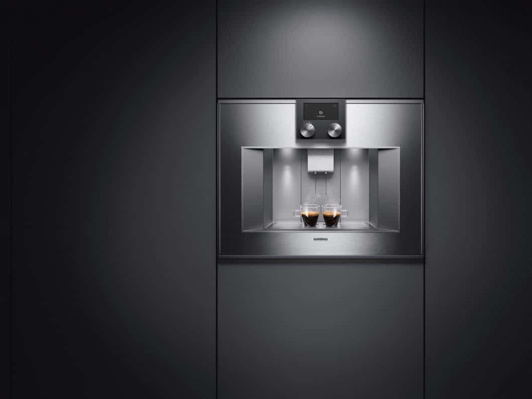 Stilvoll, puristisch, hocheffizient: Der Gaggenau Espresso-Vollautomat ist die richtige Wahl für eine moderne, stilvolle Küche mit klarer Kante. (Foto: Gaggenau)