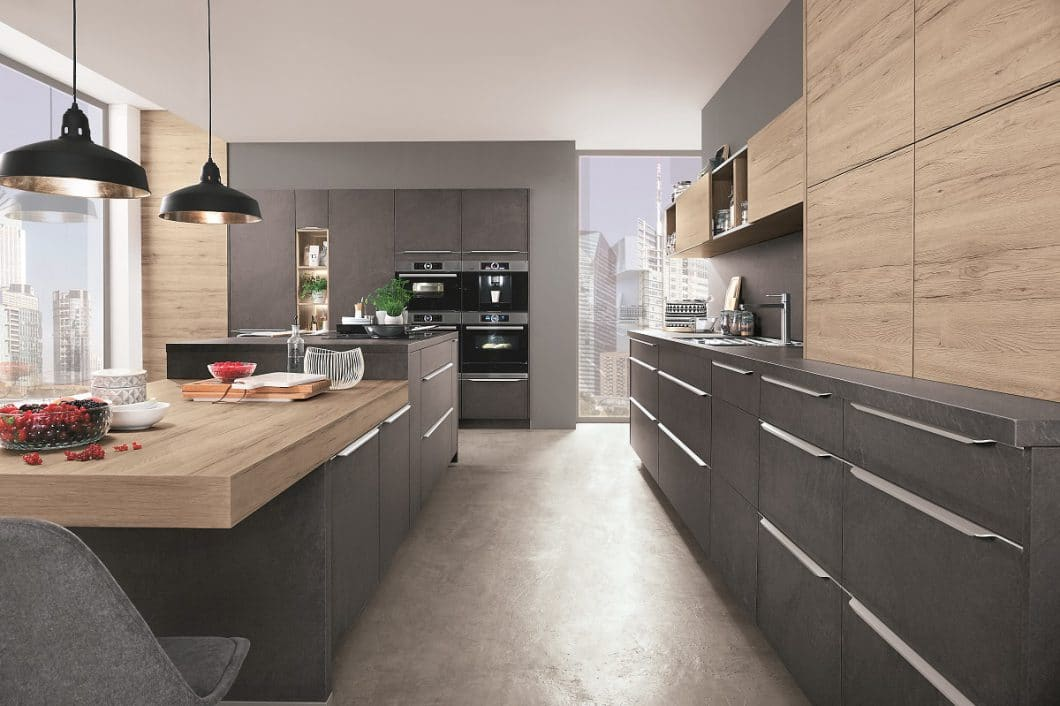 steindekor in der k che t uschend echte nachahmung von. Black Bedroom Furniture Sets. Home Design Ideas